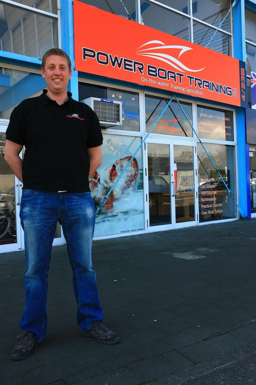 Andrew Flanagan - Owner Powerboat Training